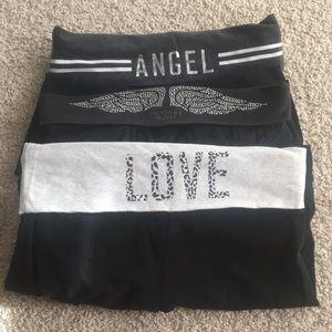 Bundle of Victoria's Secret Long Leggings